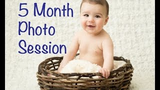 5 Month Baby Pictures || 2.20.15