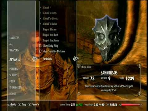 Skyrim Dragonborn Armor & Weapons
