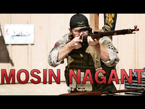 Airsoft GI - Red Fire Mosin Nagant Model 1891 Spring & Gas Sniper Rifle