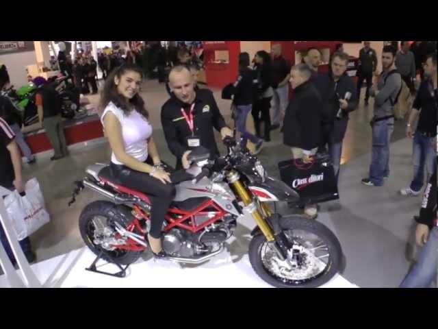 Vid�o Vu � Milan EICMA : Toutes les Bimota 2013, BB2, Moto2, DB12 Tourist, DB11, DB11VLX...