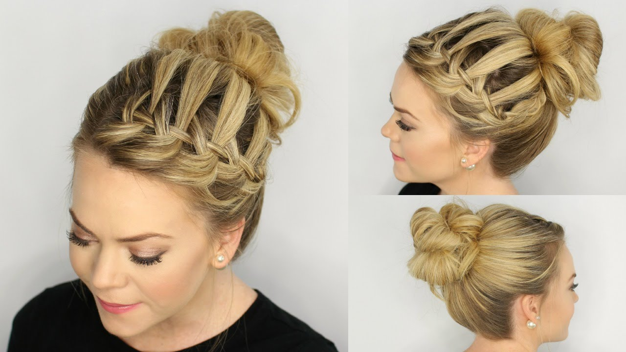 How to do hairstyles step by step for school