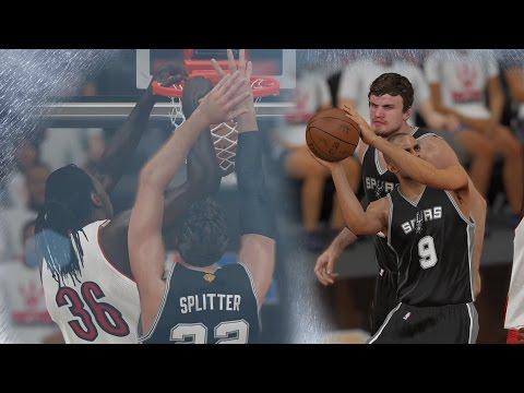 NBA 2K15 PS4 My CUHreer - Overtime! Ginobili NFG5