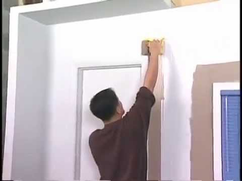 Cutting around Doors and Windows with the Accubrush