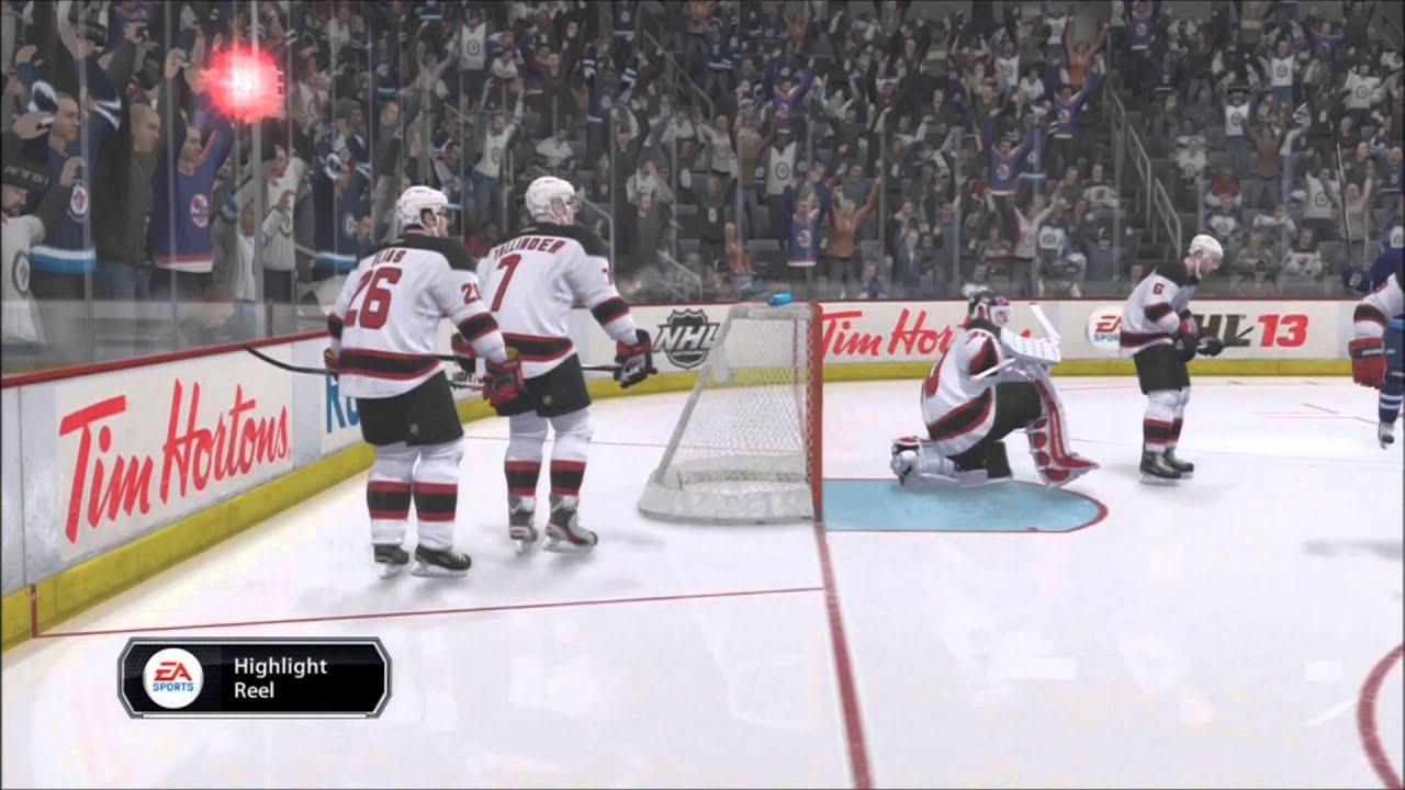nhl winnipeg jets wallpaper NHL 13 New Jersey Devils vs Winnipeg Jets YouTube
