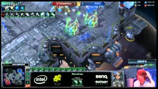 IEM Gamescom Day 3 Group D: SuperNova vs MC Game 2 - [Starcraft II]