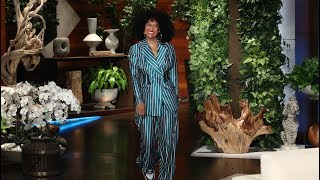 Tracee Ellis Ross' Driver Became Her Emergency Dresser