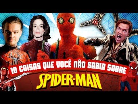 10 coisas que você não sabia sobre o Homem-Aranha