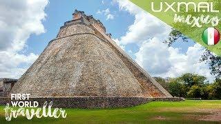UXMAL, MEXICO | Climbing ASTOUNDING MAYAN PYRAMIDS | MEXICO TRAVEL GUIDE **traduccion en espanol**
