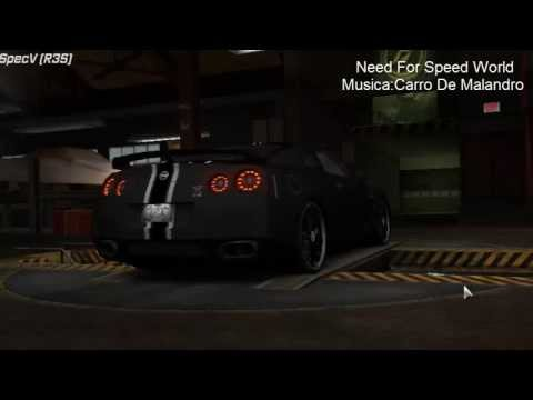 Need For Speed World - Carros