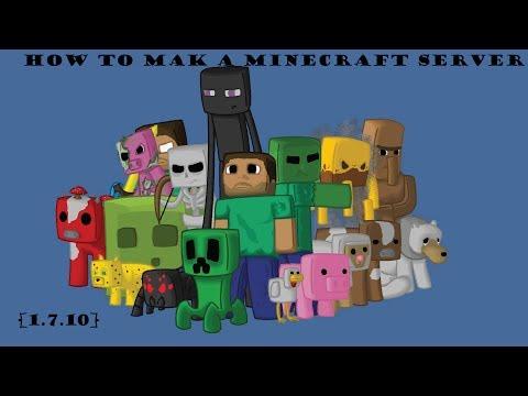 How to make a [1.7.10] Minecraft Server