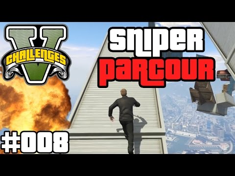 SNIPERS VS RUNNERS - SCHWIERIGER ALS GEDACHT !   GTA V CHALLENGES