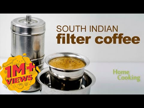 How to make the South Indian Filter Coffee - YouTube