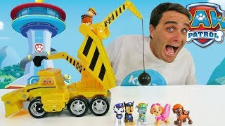 Paw Patrol Ultimate Construction Truck ! || Toy Review || Konas2002