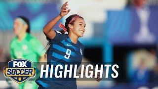 USWNT U-20s beat Paraguay 6-0 | 2018 FIFA U-20 Women's World Cup™ Highlights