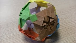 3d Origami - Ball - How To Make