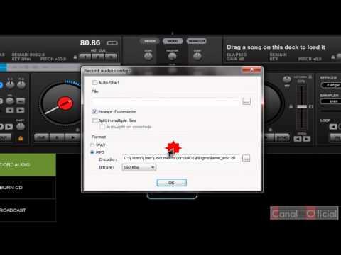Como hacer una voz de DJ con virtual dj