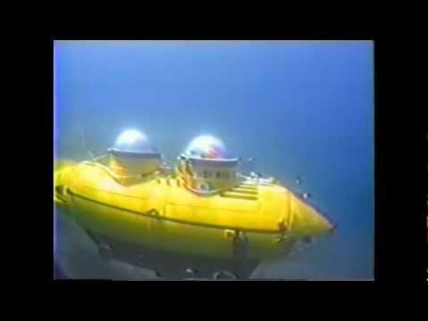 Jerry's Yellow Mini-Submarine Personal Home Made Submarine Submersible Sport Sub