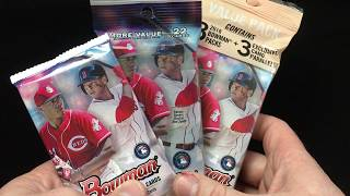 2018 Bowman Retail Pack Options - Pack, Fat Pack & Value Pack Rip