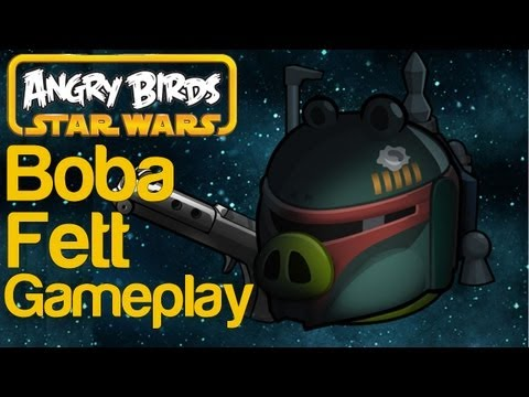 Angry Birds Star Wars Boba Fett Gameplay Part 1   WikiGameGuides