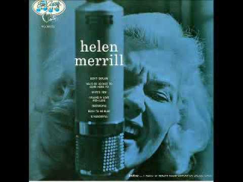 Helen Merrill  Clifford Brown / You'd Be