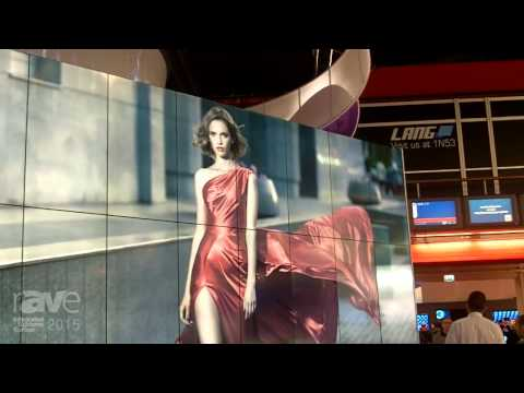 ISE 2015: BenQ Displays PH460 Digital Signage Video Wall with Super Narrow Bezel