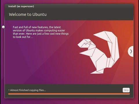 How to install Ubuntu...