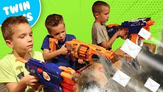 Nerf War:  Mail Time Mayhem 21