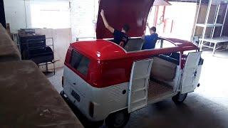 VW Kombi Clipper 1990 Food Truck Transformation