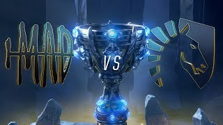 MAD vs TL | Worlds Group Stage Day 7 | MAD Team vs Team Liquid  (2018)