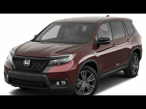 2019 Honda Passport Video