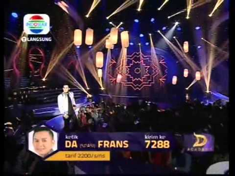 Frans - Air Mata Perkawinan - #KonserFinal4Besar - DAcademy Indonesia