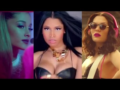 "Jessie J, Ariana Grande, Nicki Minaj Tease ""Bang Bang"" Music Video in Beats Target Commercial"