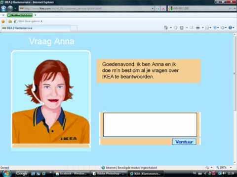 Chatten met Anna Video