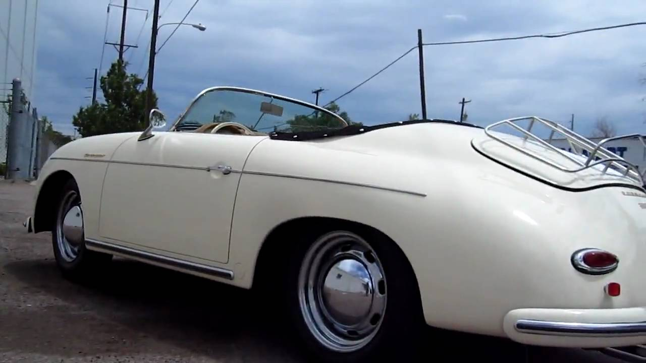 1957 Porsche Speedster Vintage Speedster Youtube