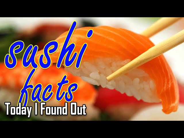 Sushi is not raw fish the awesomer for Is sushi raw fish