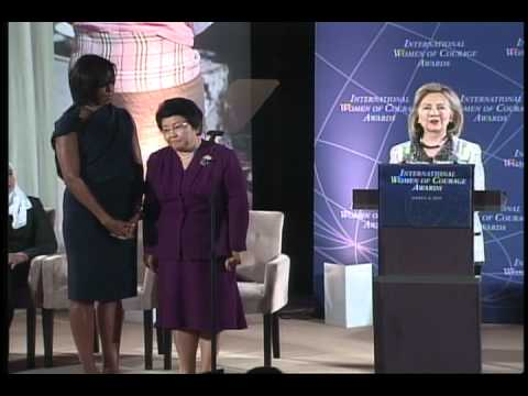 "Roza Otunbayeva - ""Jasoratli ayol""/ International Women of Courage Award"
