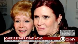 BREAKING NEWS Carrie Fisher Dead at 60 May the force be with you!!!!!