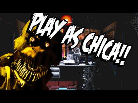 Fazbears Simulator: Part 1 - PLAY AS CHICA AND ALL ANIMATRONICS!