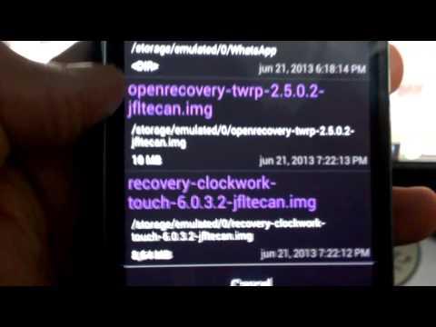 02 Cómo Rootear e instalar TWRP o CWM Recovery en el Samsung Galaxy S4 SGH-i337M