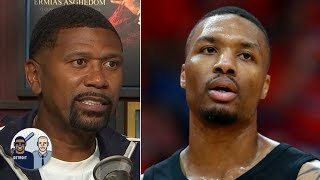 Jalen Rose appreciates Damian Lillard following in Dirk Nowitzki's footsteps | Jalen & Jacoby