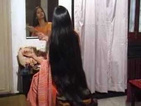 Beautiful Long Hair Indian Girls video