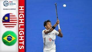 Malaysia v Brazil | Men's FIH Series Finals Highlights