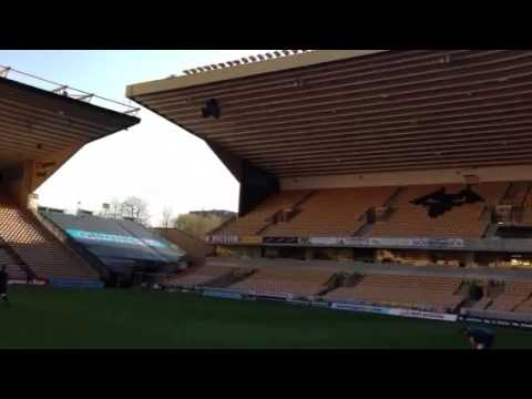 Wolverhampton Wanderers. Molineux stadium. 360 degree view