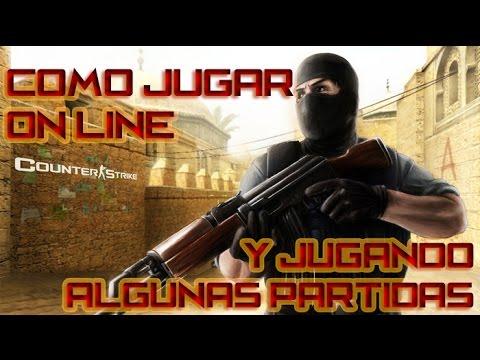 Yo jugando Counter Strike 1.6