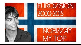 Eurovision 2000 - 2015 l Norway l My top