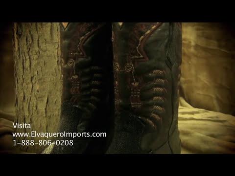 Botas Originales de Mantarraya - Goza Boots - El Vaquero Imports