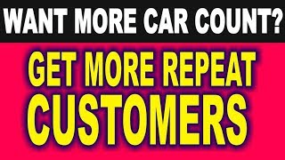 Auto Repair Shop Management - MORE CUSTOMERS