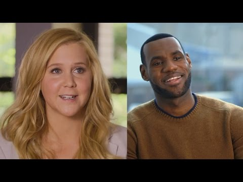 Go Behind the Scenes of 'Trainwreck' with Amy Schumer and LeBron James