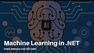 Machine Learning in .NET