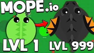MOPE.IO BLACK DRAGON - QUEST FOR 10 MILLION EXP